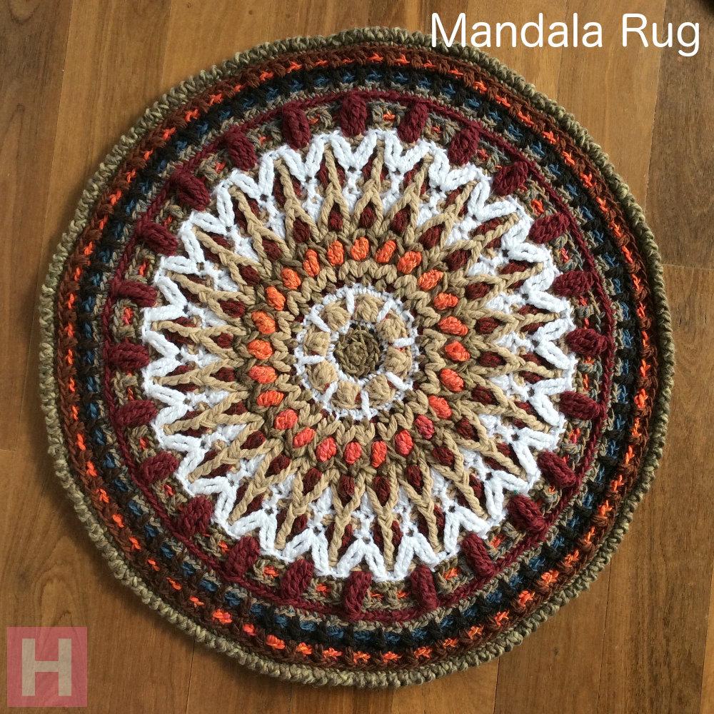 Mandala Rug Overlay Crochet Ch0461 Na Clearlyhelena