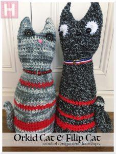 Amigurumi Cats - Orkid & Filip (CH0482)
