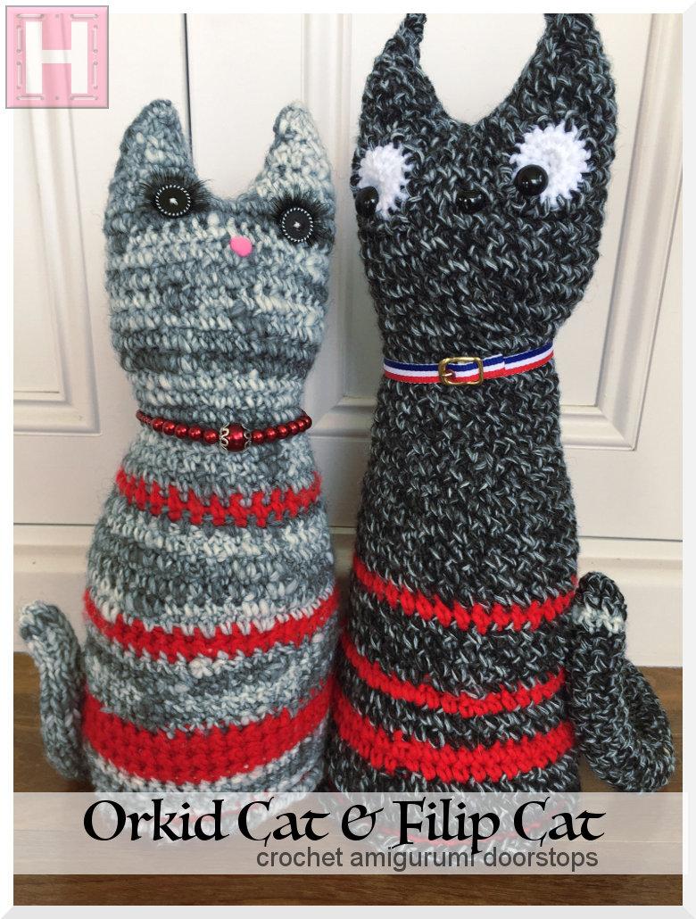 Cat - Doorstop, Stuffed Toy - Crochet Pattern   1030x780