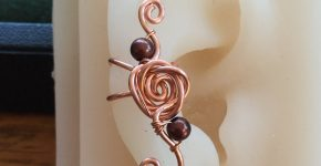 Ear Cuff – Wire Wrapped Rose – How To