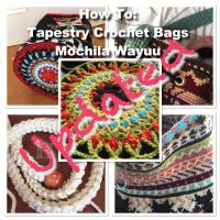 Bag Mochila Wayuu, Tapestry Crochet - How To