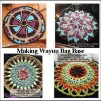 Bag Mochila Wayuu - Making the Base