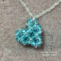 Beaded Heart - how to