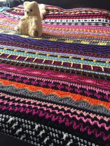 Crochet Blanket - Random Afghan #3 (CH0501)