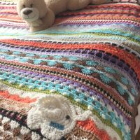 Crochet Afghan Blanket – for Bev, CH0499