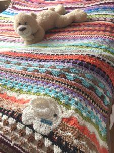 Crochet Afghan Blanket - for Bev, CH0499