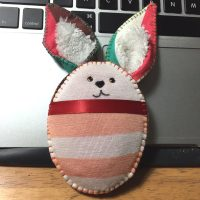 Pincushion - Easter Bunny. How To