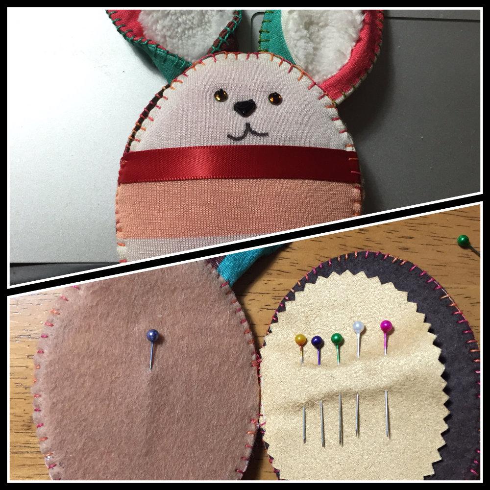 pincushion easter bunny CH0396A-000