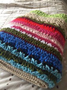 Pieter's Afghan Crochet Blanket (CH0507)