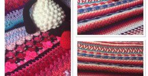 Afghan Blanket #5 – More Pinks (CH0505)
