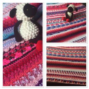 Afghan Blanket #5 - More Pinks (CH0505)