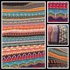 Crochet Afghan Blanket QS #4 - CH0506