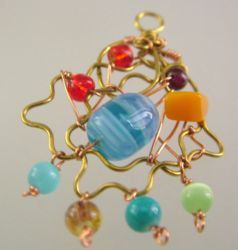 Wire Christmas Ornament (CH0292/syl)