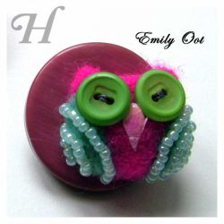 Felted Owl - Emily Oot (CC0075)