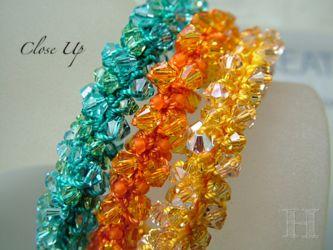 Beaded Crochet Bracelets & Necklaces (ch0296)