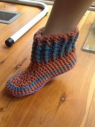 first Crochet Bootie (CH0317)