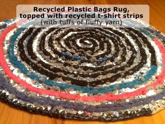Recycled Plastic Rugs - CH0323
