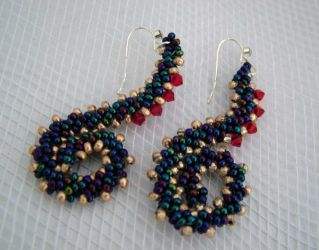 Squiggle Earrings (CH0192)