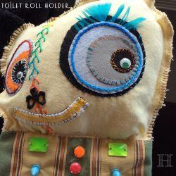Handmade Toilet Roll Holder (ch0341)