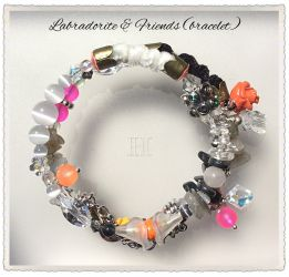 """Labradorite & Friends"" bracelet (CH0343)"