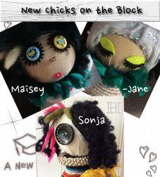 Quirky Decor Dolls (CH0357)