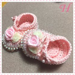 Crochet Baby Shoes (CH0374)