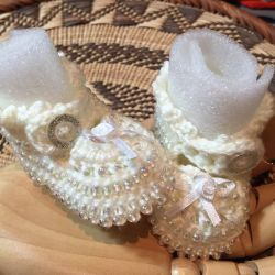 Crochet Baby Shoes (CH0374-A)