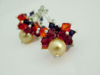 Juicy Earrings I - with Swarovski Elements (CH0167)