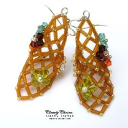 Open Mesh Earrings (CC0095)