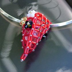 Urban Rock pendant - Red Power (CH0100)