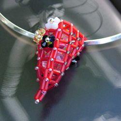 Urban Rock pendant - Red Power (CH0100)