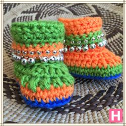 Jingle Gypsy Baby Boots (CH0381)