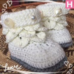 Pearl & Buttons Baby Winter Boots (CH0393)
