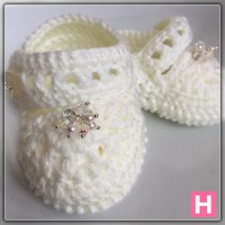 Sally's Sparkly Baby Shoes (CH0394)