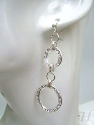 Circles of Glamour earrings (part of a set) - CH0239 (sold)