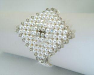 """Silken Square Bracelet"" ch0093 - (sold)"