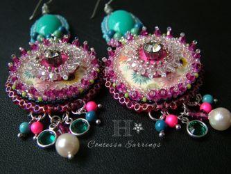 Wild Contessa Earrings - CH0309