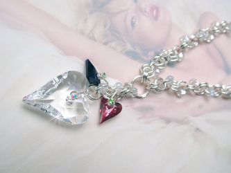 Wild Hearts Necklace  (CH0153 - Sold)