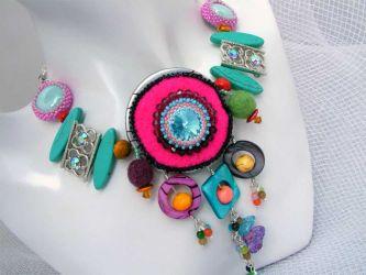 Color Fantasy Necklace (ch0199 - Sold)