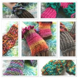 Collection of Fingerless Gloves (CH0397)