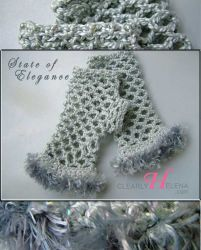 Gray Elegance Fingerless Gloves - CH0276F