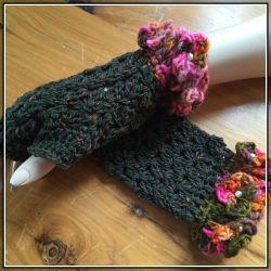 Hidden Pearls fingerless gloves (CH0397N)