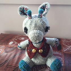 Podge Amigurumi Crochet Doorstop CH0415