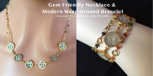 Re-purposed Childhood Jade Bracelet (CH0421)