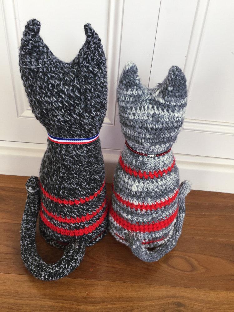 Ravelry: Sleepy Kitty Doorstop pattern by Brenda K. B. Anderson   1000x750