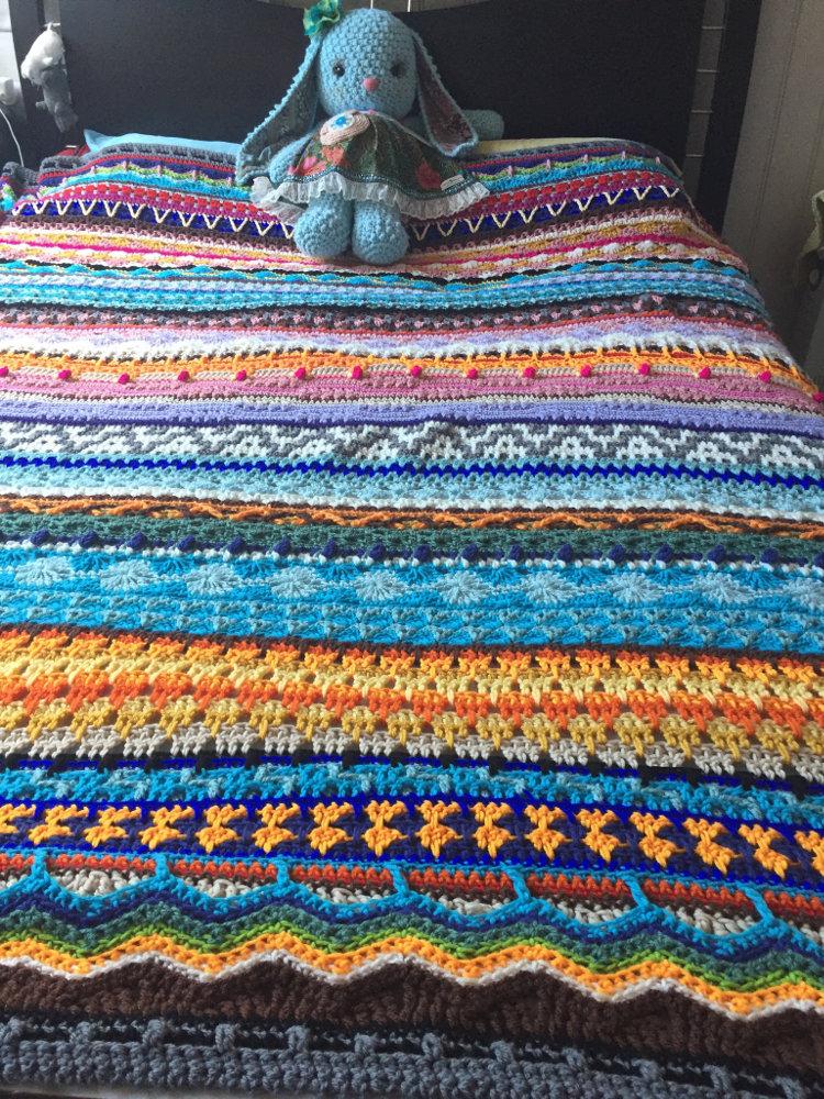 Crochet Afghan Blanket Qs 4 Ch0506 Clearlyhelena